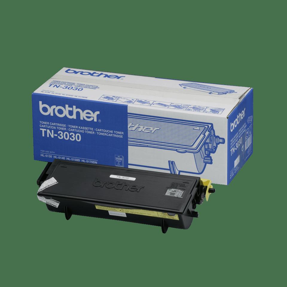 Original Brother TN3030 toner – sort