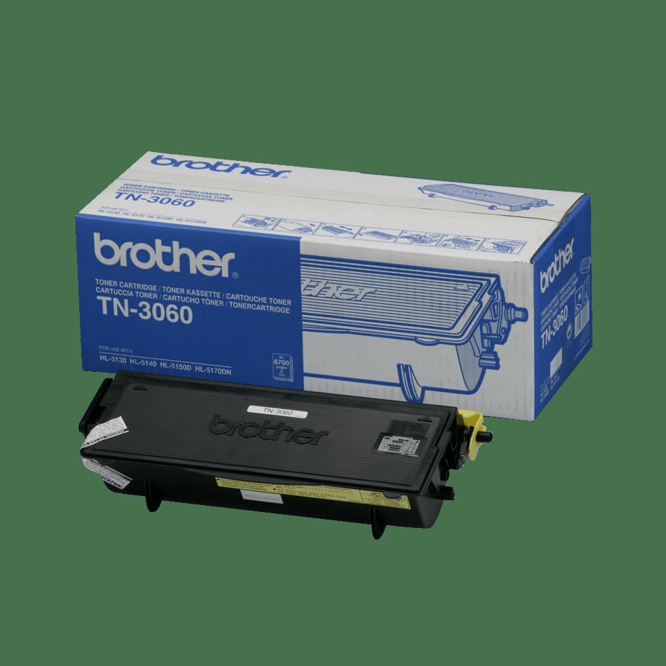 Original Brother TN3060 høykapasitet toner – sort