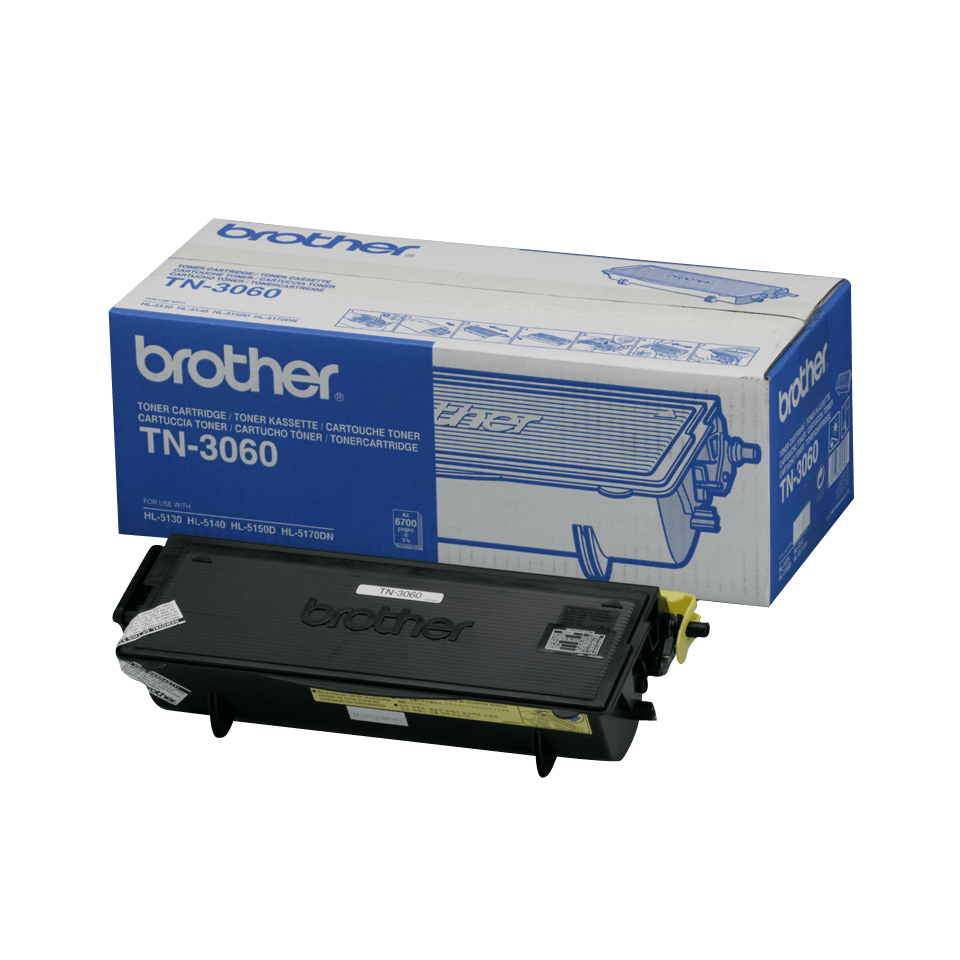 Original Brother TN3060 høykapasitet toner – sort