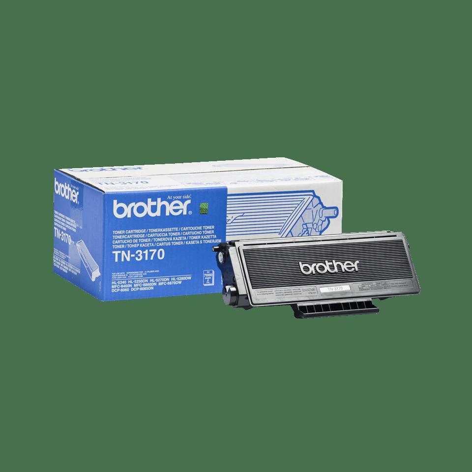 Original Brother TN3170 høykapasitet toner – sort