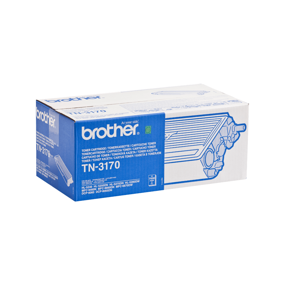 Original Brother TN3170 høykapasitet toner – sort 2