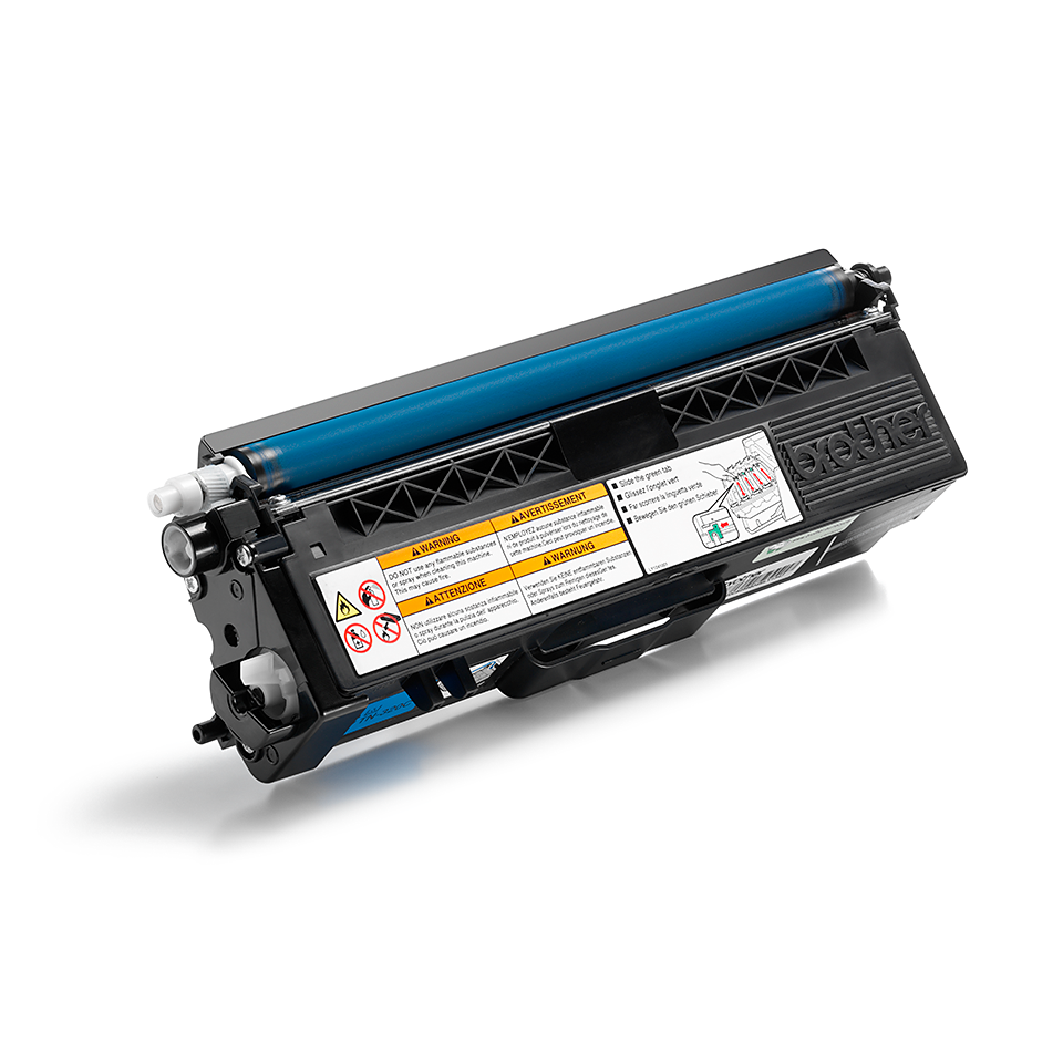 Original Brother TN320C toner – cyan