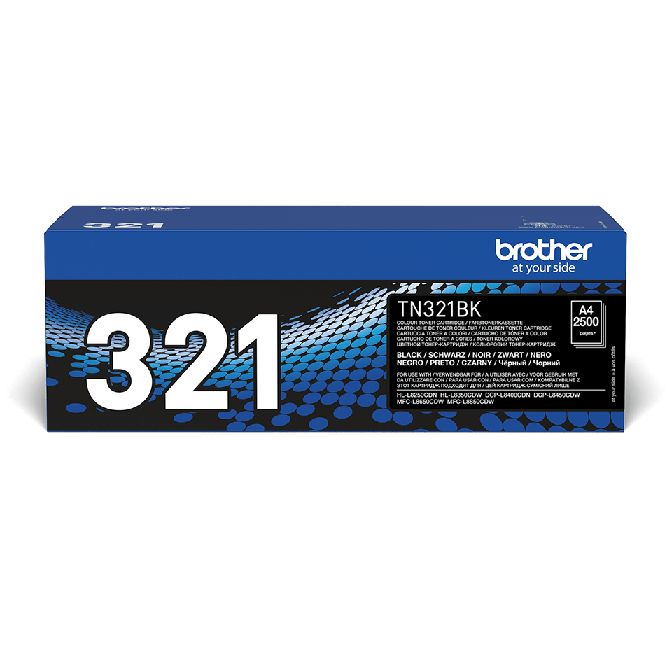Original Brother TN321BK toner – sort