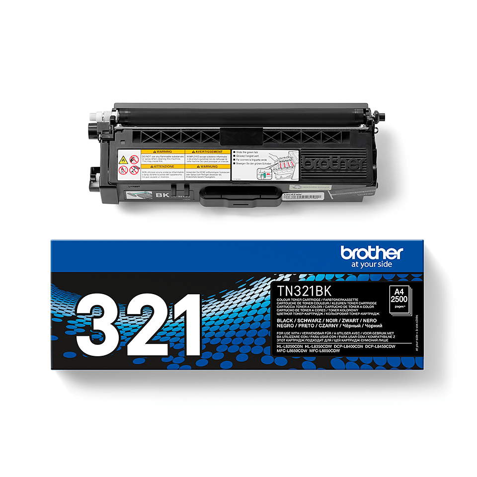 Original Brother TN321BK toner – sort  2