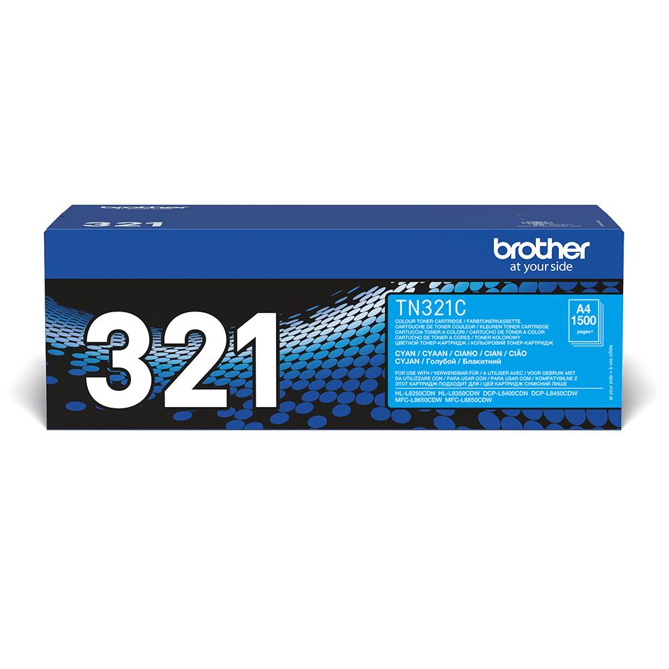 Original Brother TN321C toner – cyan 2
