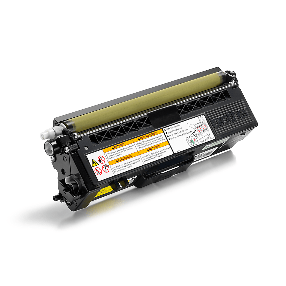 Original Brother TN325Y høykapasitet toner – gul