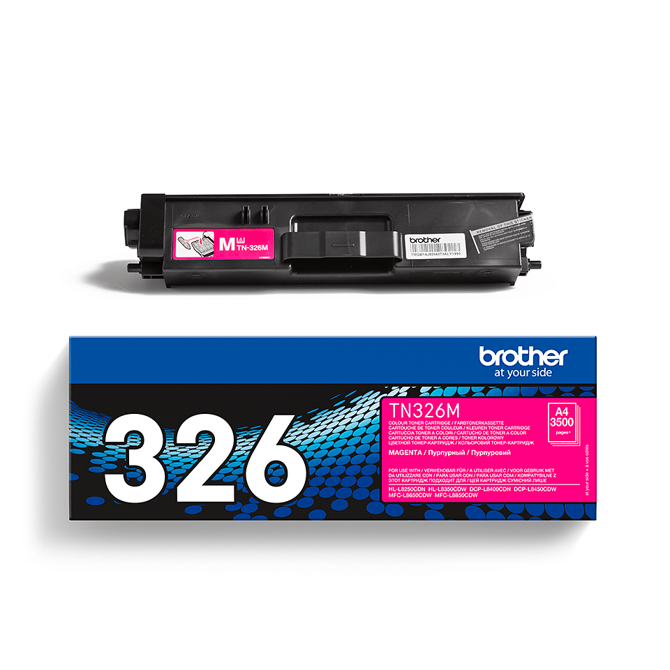 Original Brother TN326M høykapasitet toner – magenta 2