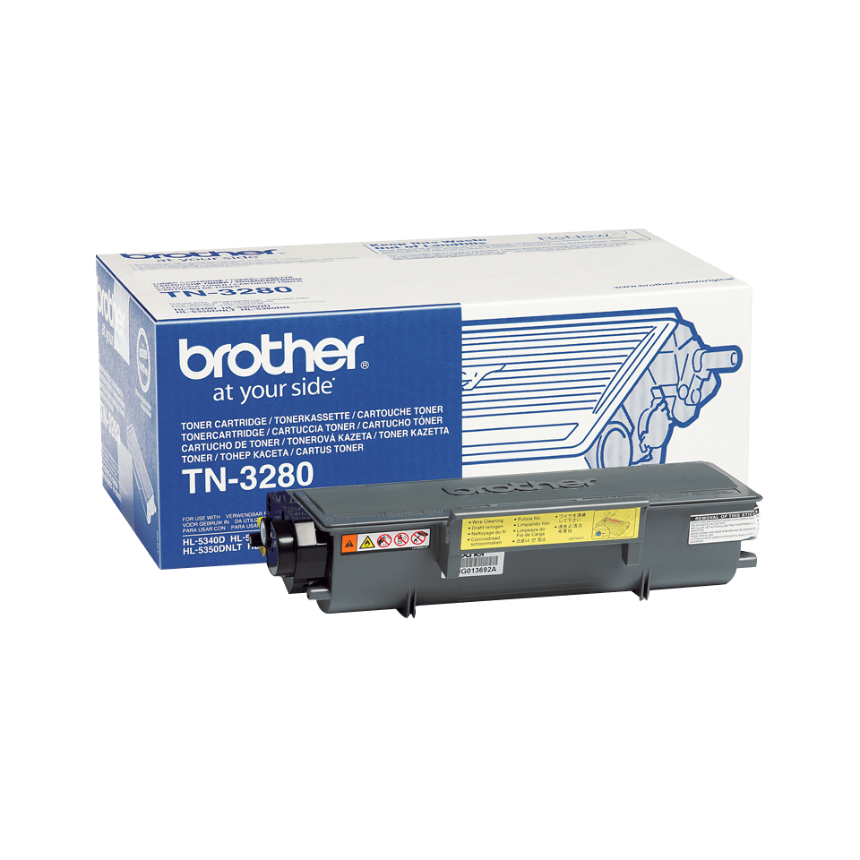 Brother TN3280 original høykapasitet toner sort