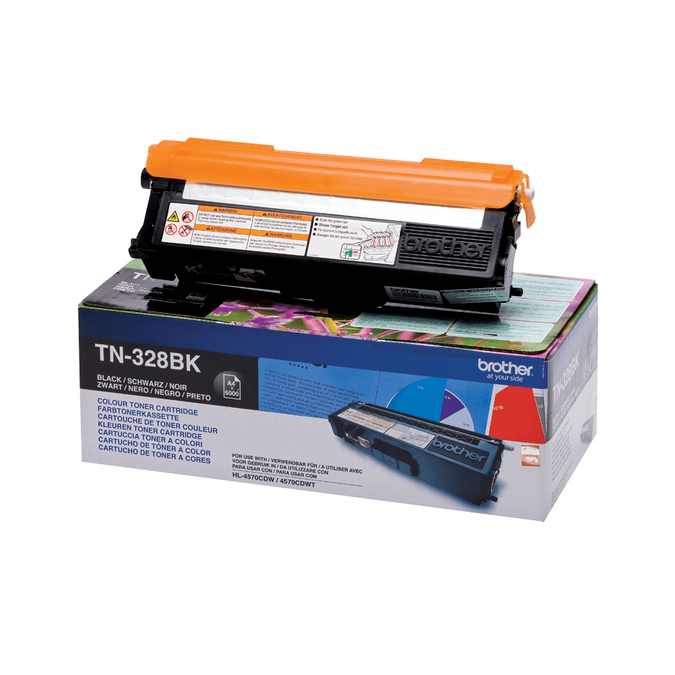 Original Brother TN328BK super høykapasitet toner – sort 2