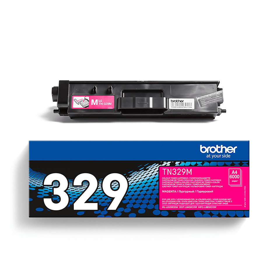 Original Brother TN329M super høykapasitet toner – magenta 2