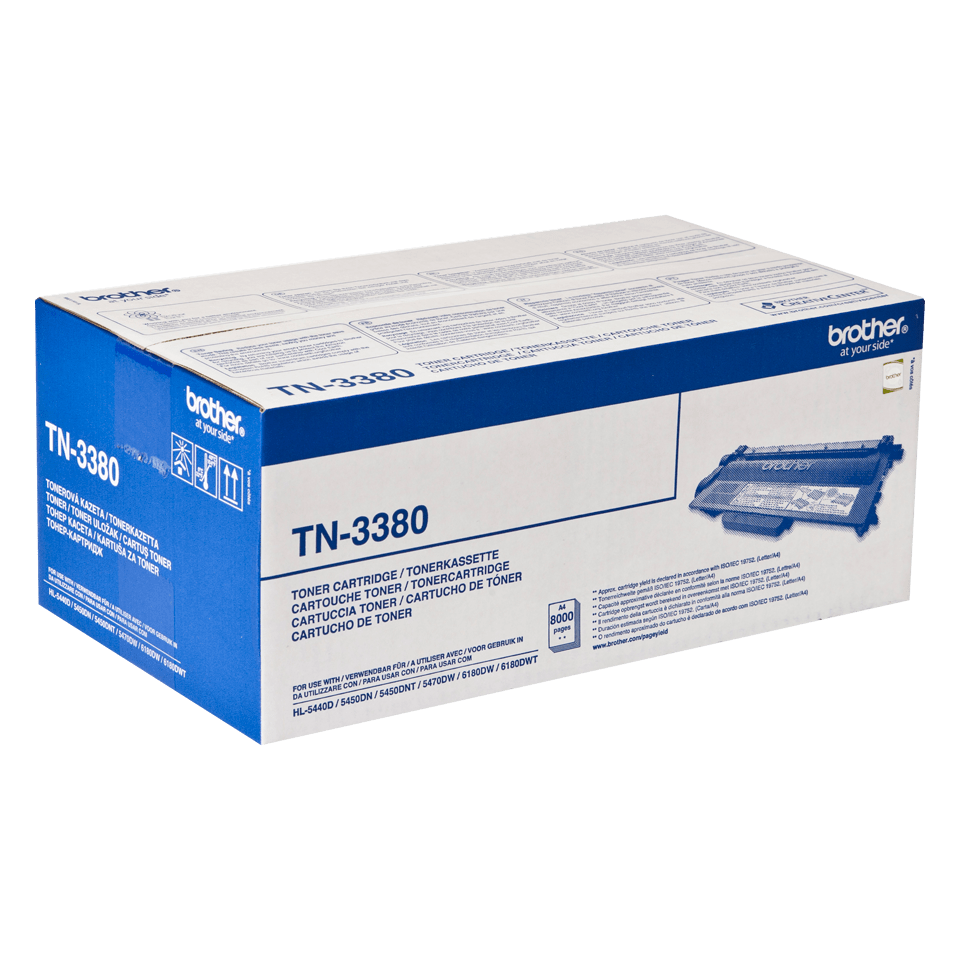 Original Brother TN3380 høykapasitet toner - sort
