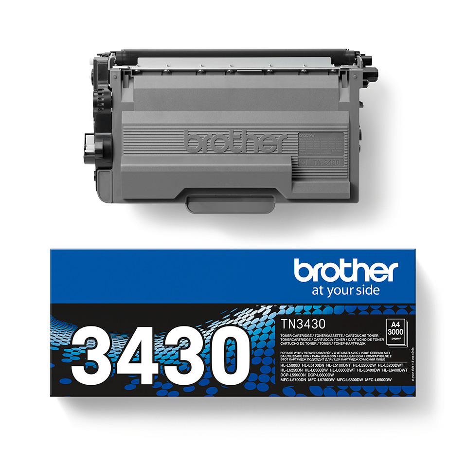 Original Brother TN3430 toner – sort 2