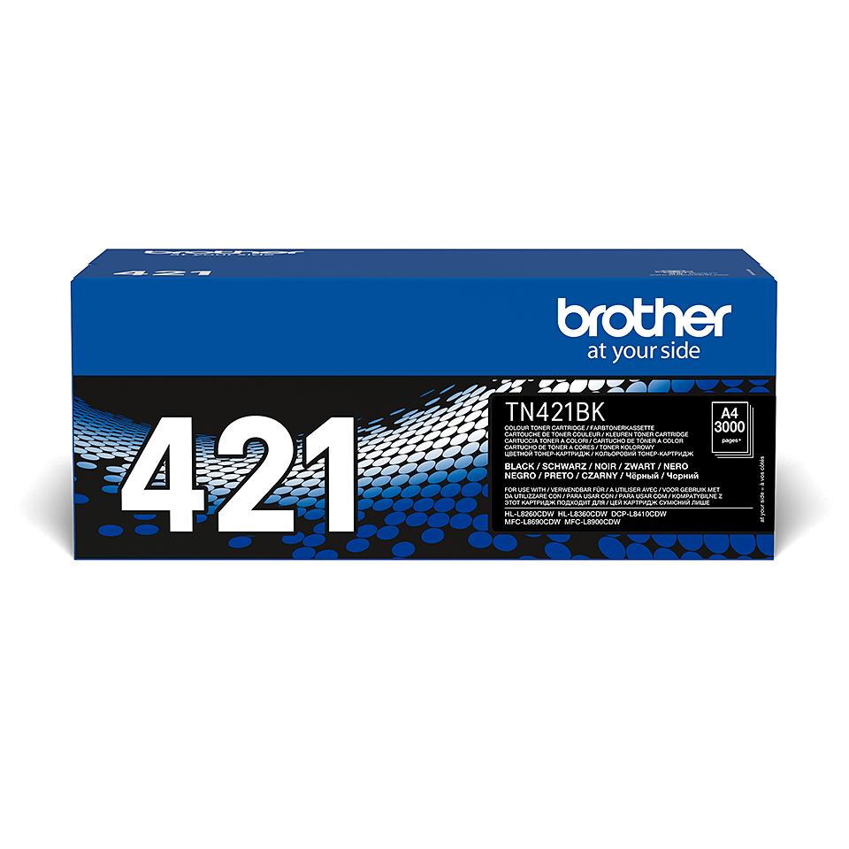 Original Brother TN421BK toner – sort