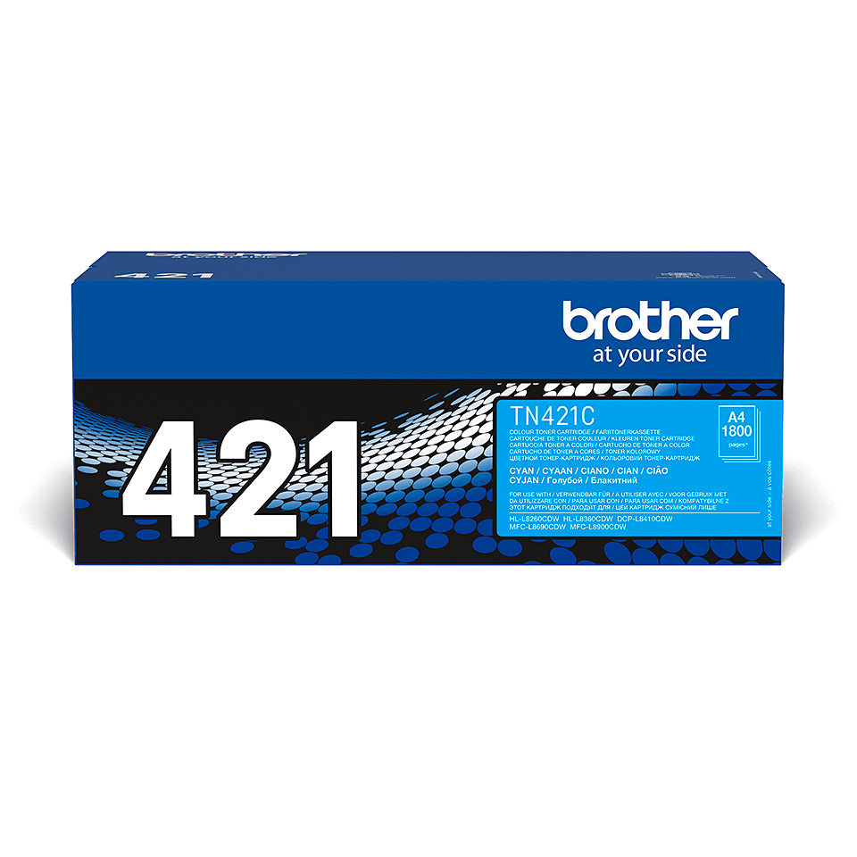Original Brother TN421C toner – cyan