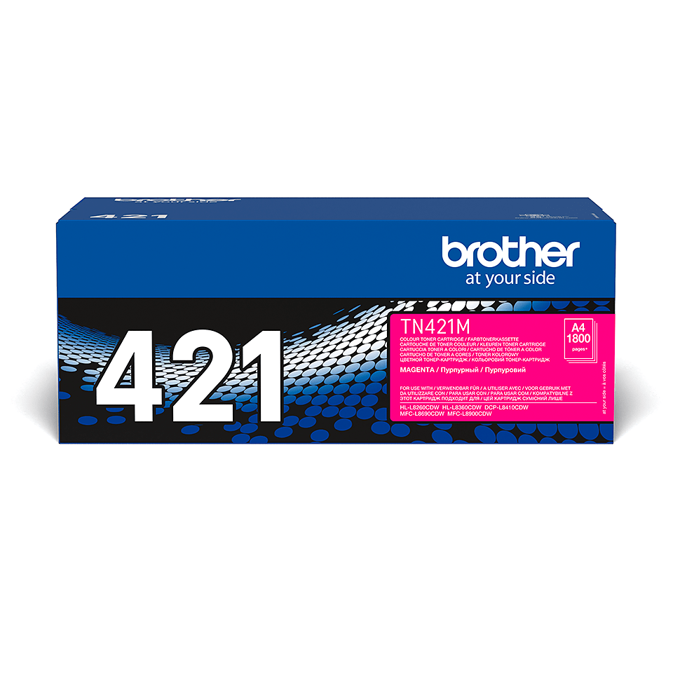 Original Brother TN421M toner – magenta