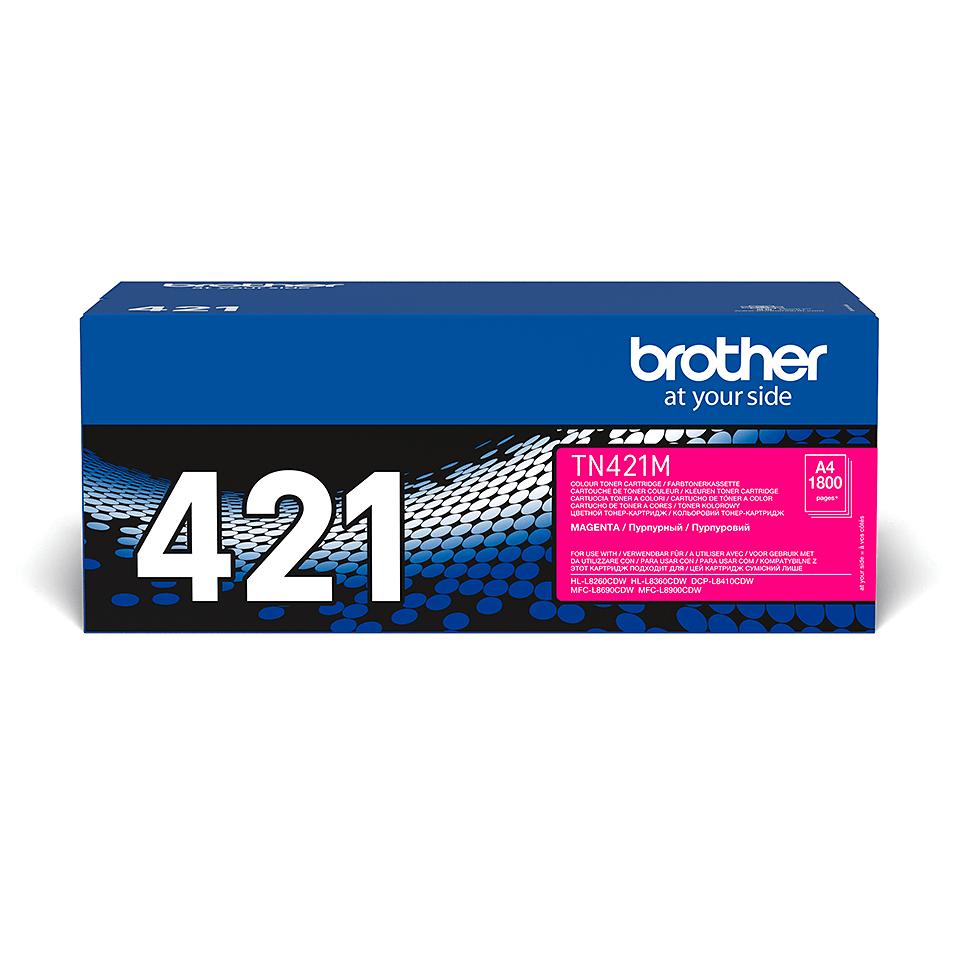 Original Brother TN421M toner – magenta 2