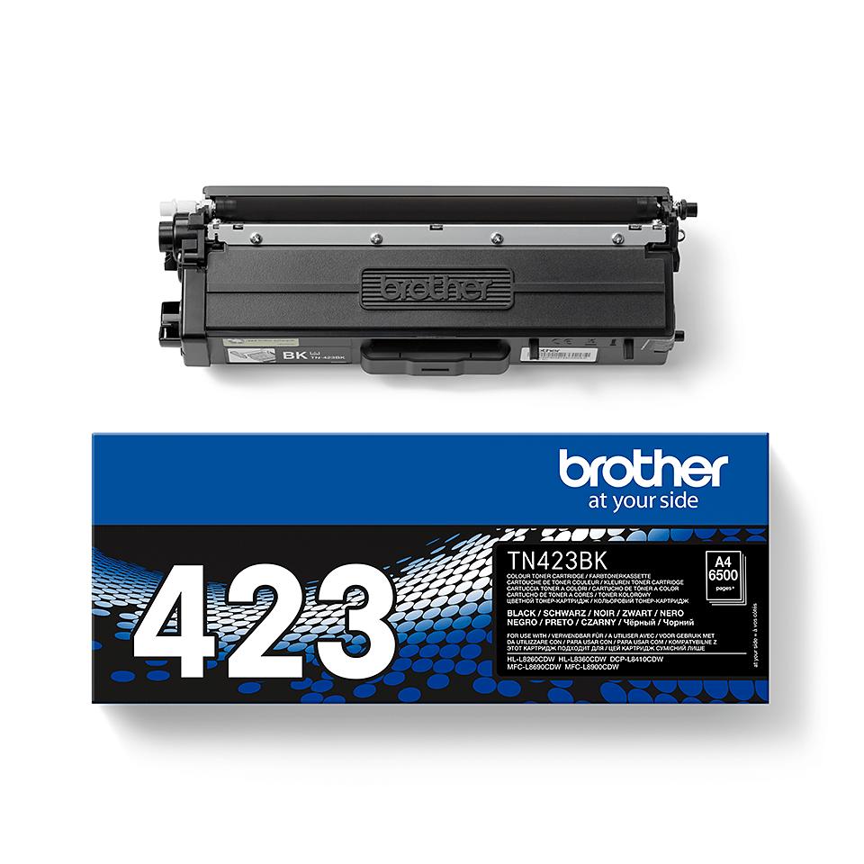 Original Brother TN423BK høykapasitet toner – sort 2