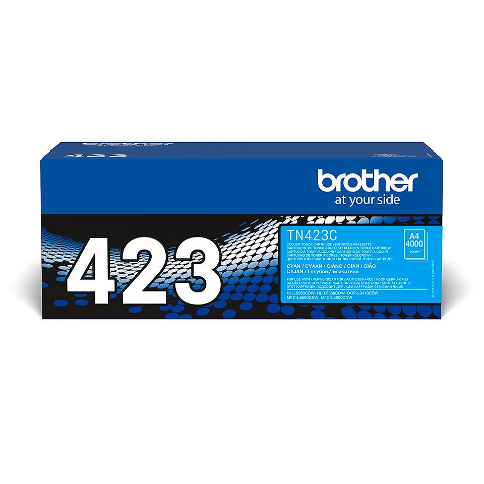 Original Brother TN423C høykapasitet toner – cyan