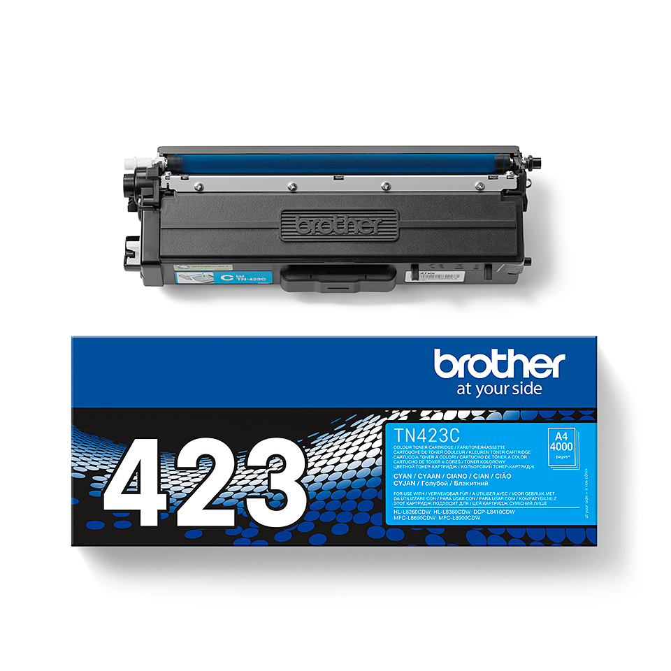 Original Brother TN423C høykapasitet toner – cyan 2