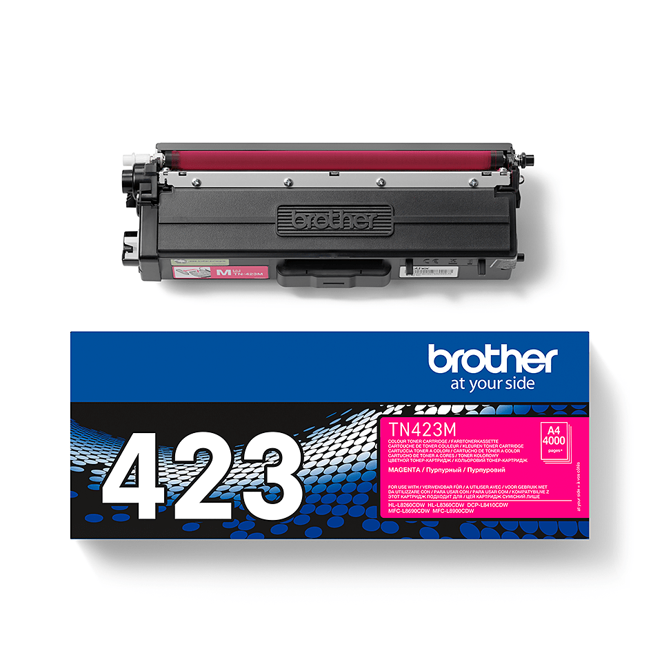 Original Brother TN423M høykapasitet toner – magenta 2