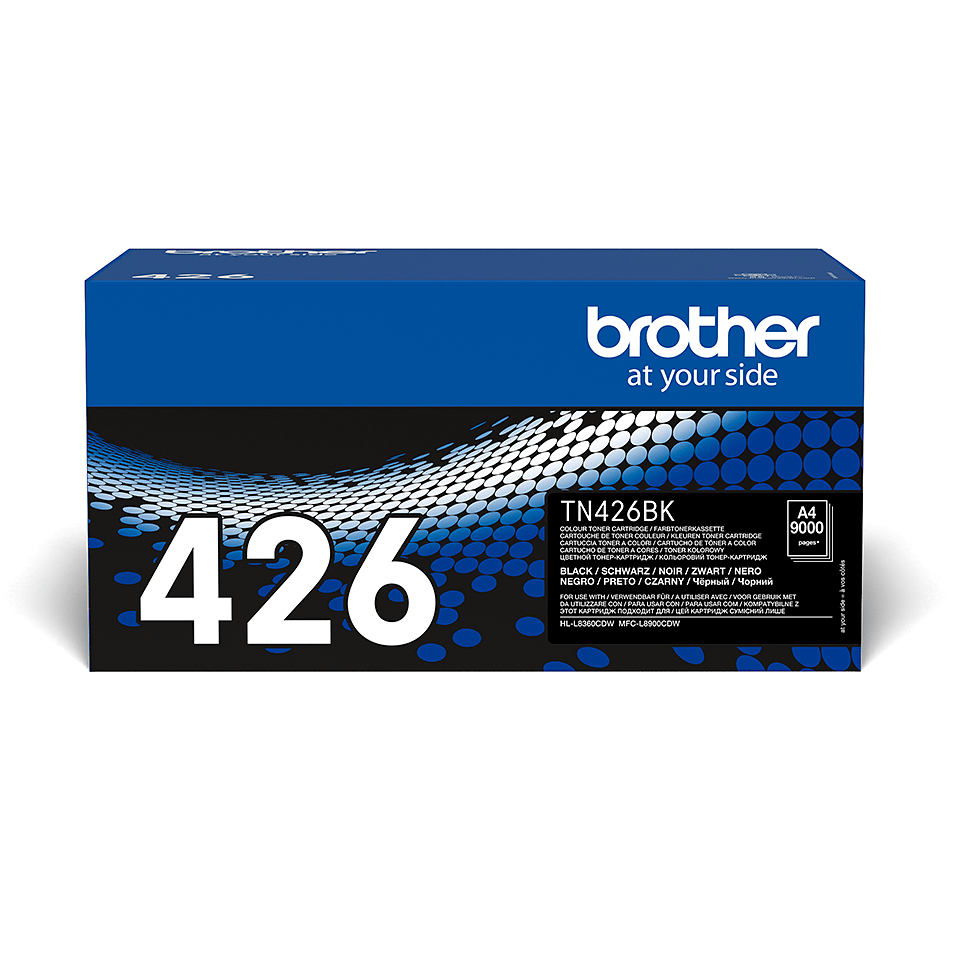 Original Brother TN426BK super høykapasitet toner – sort