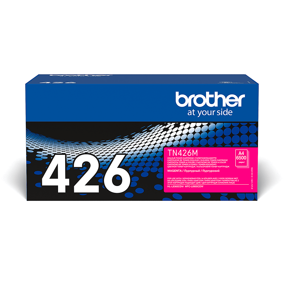 Original Brother TN426M super høykapasitet toner – magenta