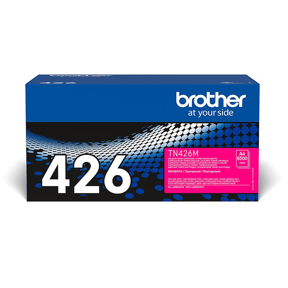Original Brother TN426M super høykapasitet toner – magenta 2