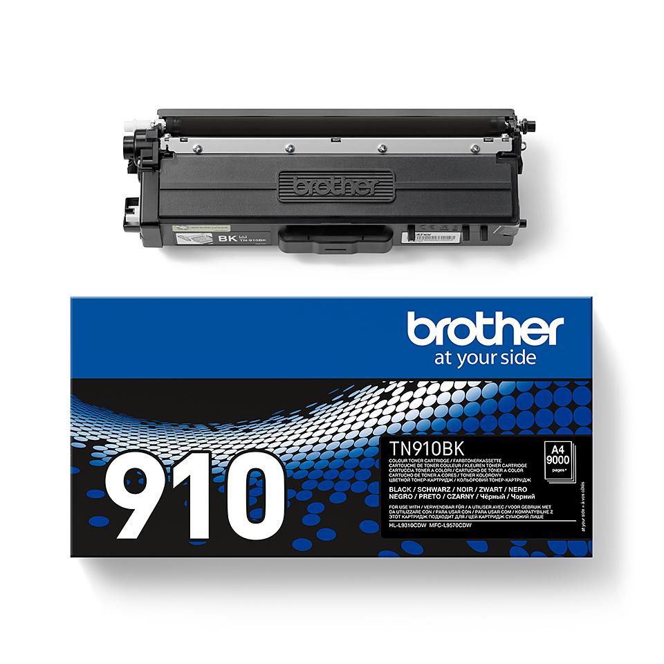 Original Brother TN910BK ultra høykapasitet toner – sort 2