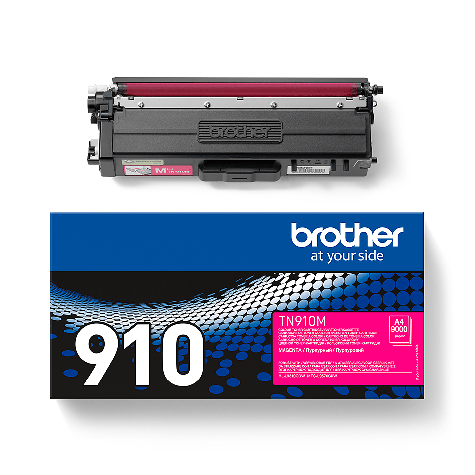 Original Brother TN910M ultra høykapasitet toner – magenta 2