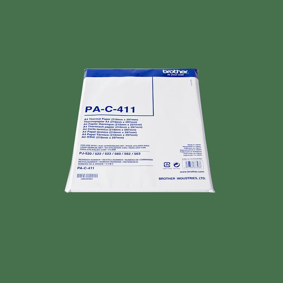 Brother original PAC411 termisk papir A4