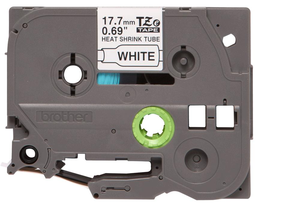 Original Brother HSe241 krympestrømpe – sort på hvit, 17,7 mm bred 2