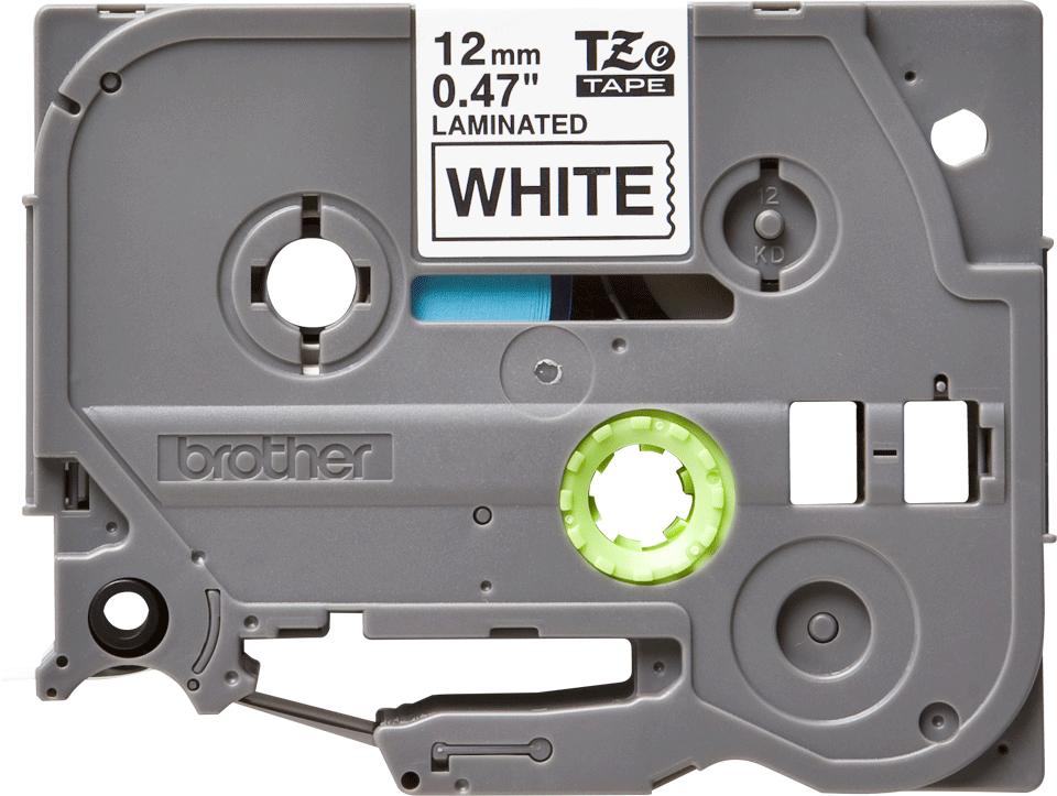 Brother original TZe231 merketape - sort på hvit, 12 mm bred 2