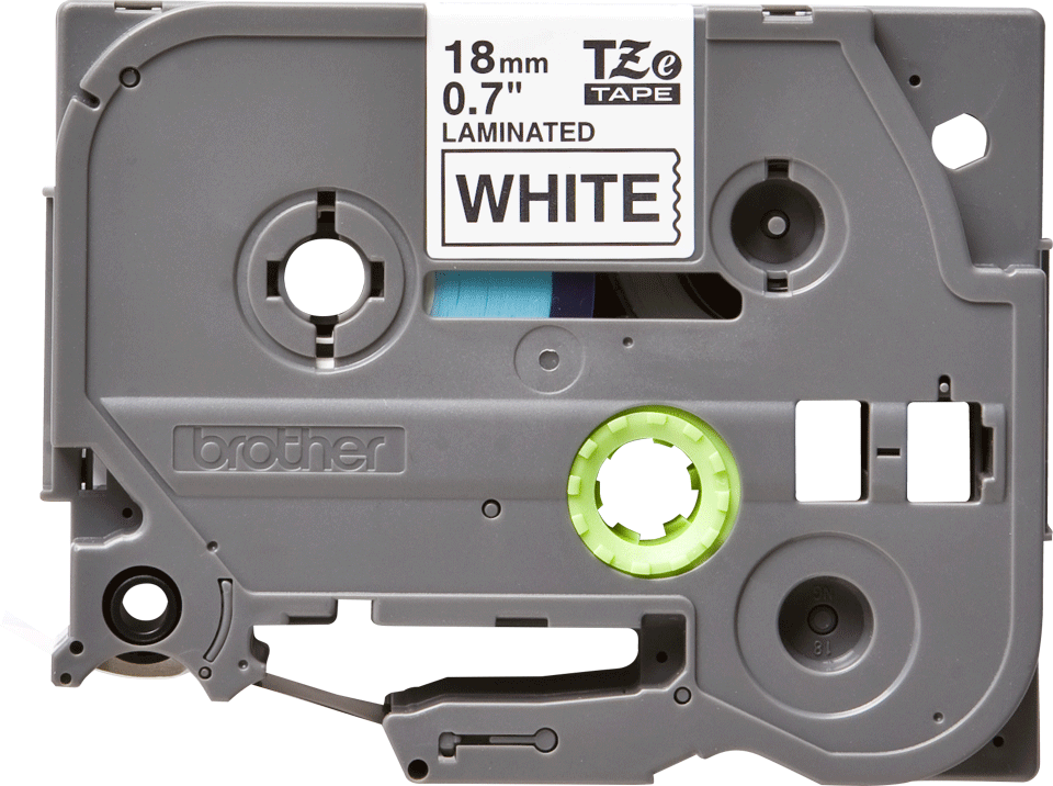 Original Brother TZe241 merketape – sort på hvit, 18 mm bred 2
