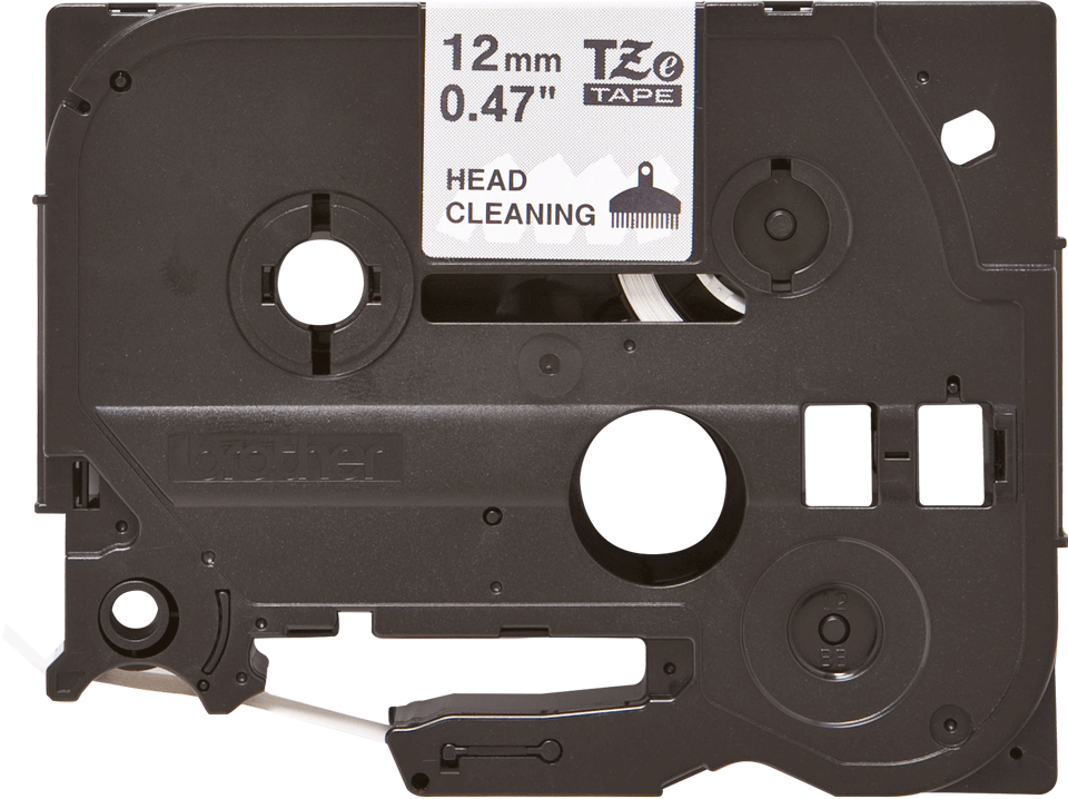 Original Brother TZeCL3 rensetape for skrivehode, 12 mm bred