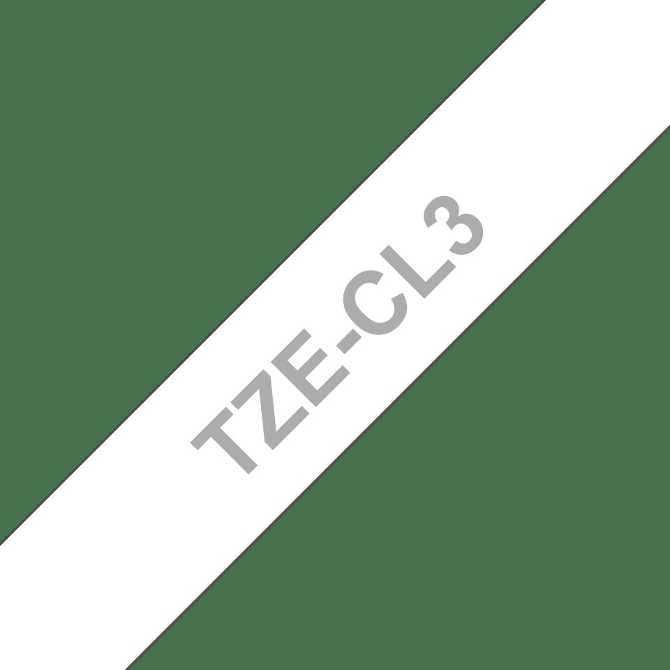 Original Brother TZeCL3 rensetape for skrivehode, 12 mm bred 3