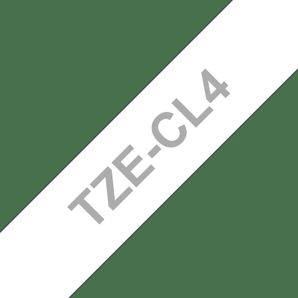 Brother TZeCL4 rensetape for skrivehode, 18 mm bred 3