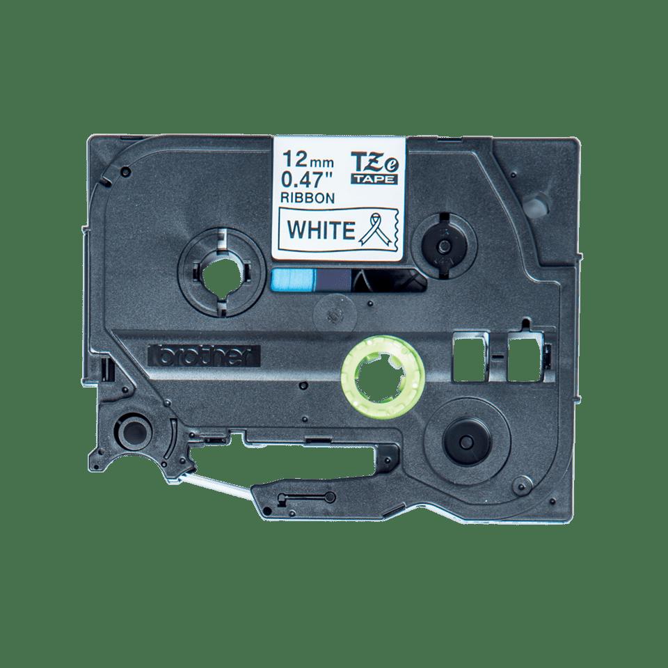 Brother original TZeR231 silkebånd - sort på hvitt, 12 mm bred 2