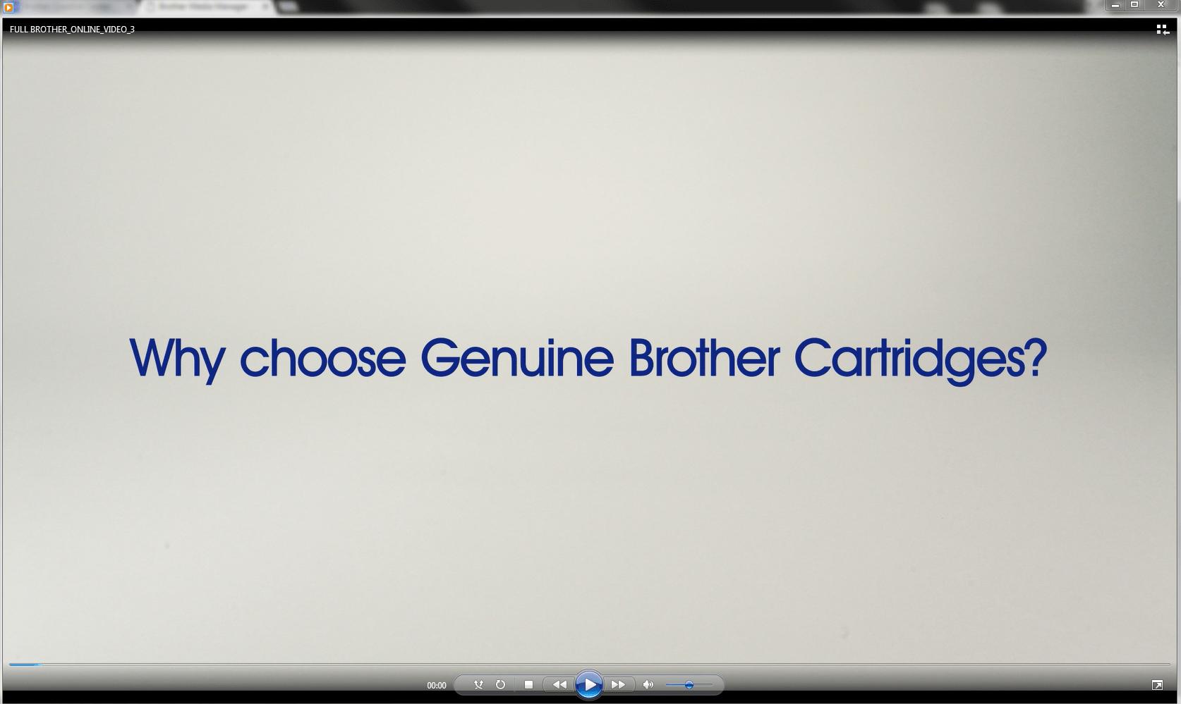 Original Brother LC1000HYBK høykapasitet blekkpatron – sort 2